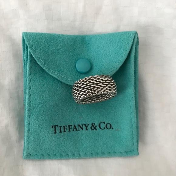 0c66012e1c6df AUTHENTIC 💍 Tiffany & Co. Somerset Mesh Ring